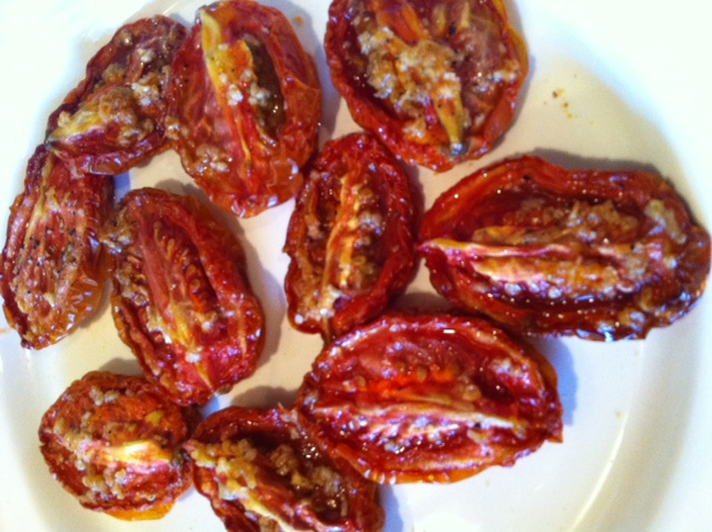 Dried toms